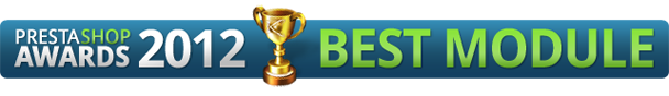 PrestaShop Awards 2012 Best Module
